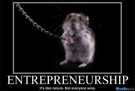 Free Motivational Poster Maker on Online Entrepreneurship Death   Free New Business Advice