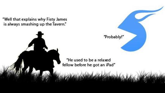 Cowboy ipad