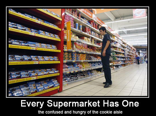 Supermarket Biscuit Shopper - Choices