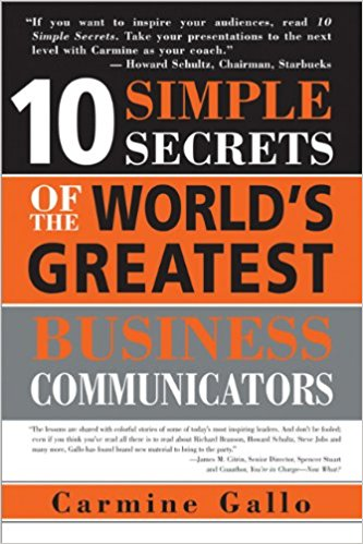 10 Simple Secrets Of The World S Greatest Communicators Summary Chapters Pdf Review Carmine Gallo S Book Munchweb