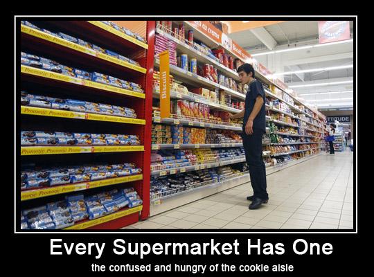 Supermarket Biscuit Shopper - Choices